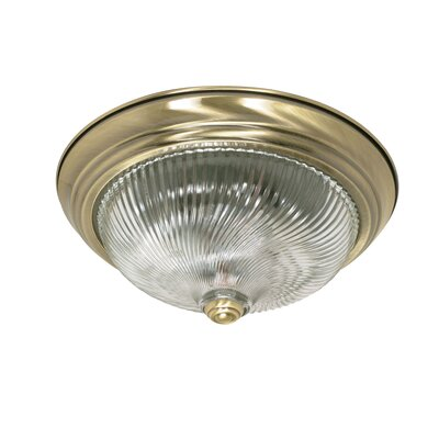 Flush Mount Size: 5.375 H x 13.125 W