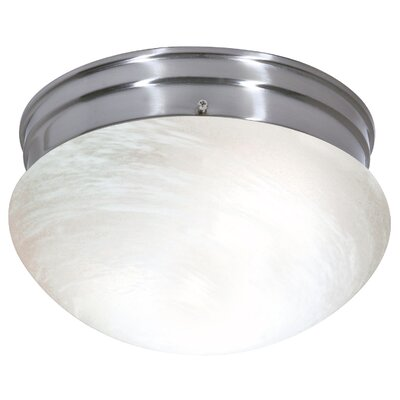 Chowdhury Energy Star Flush Mount Size: 6 H x 9.5 W