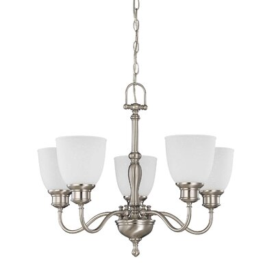 Bella 5-Light Shaded Chandelier