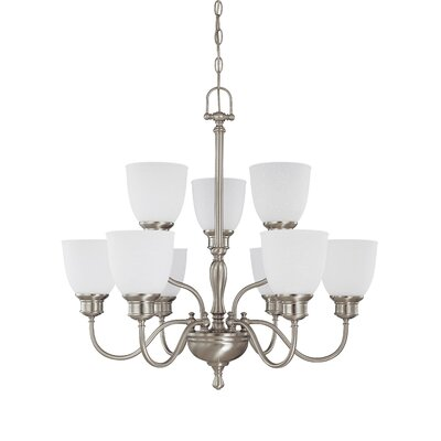 Bella 9-Light Shaded Chandelier