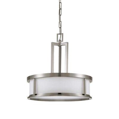 OdeonPendant in Brushed Nickel Energy Star: Yes