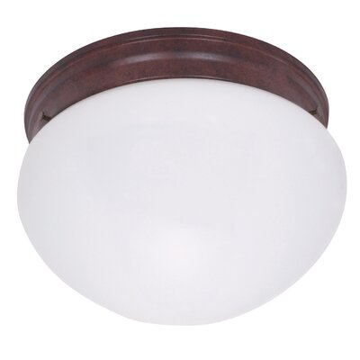 Vilma 2-Light Flush Mount Size: 5 H x 10 W x 10 D