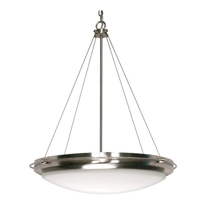 Bunton 3-Light Inverted Pendant Energy Star: Yes