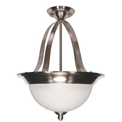 Palladium Inverted Pendant Bulb Type: Incandescent