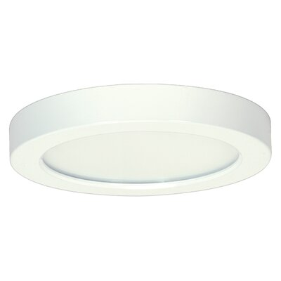 1-Light Flush Mount Bulb Color Temperature: 4000K