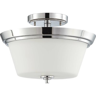 Bento 2-Light Semi Flush Mount