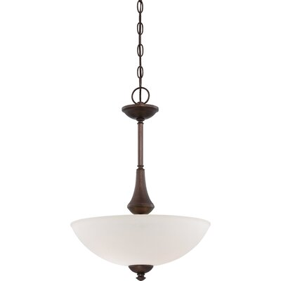 Rockford 3-Light Pendant Color: Prairie Bronze, Bulb Type: A19