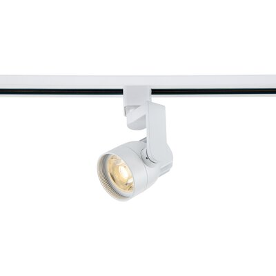 1-Light LED Angle Arm Track Head Finish: White