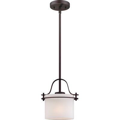 Daryl 1-Light Mini Pendant Color: Venetian Bronze