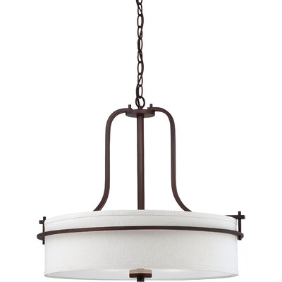 Daryl 3-Light Pendant Finish: Venetian Bronze