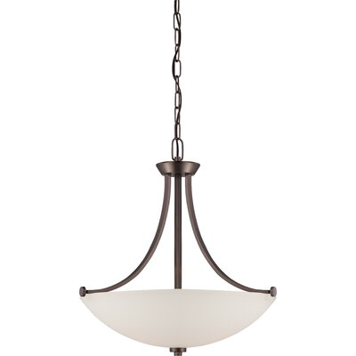 OShaughnessy 3-Light Pendant Finish: Hazel Bronze