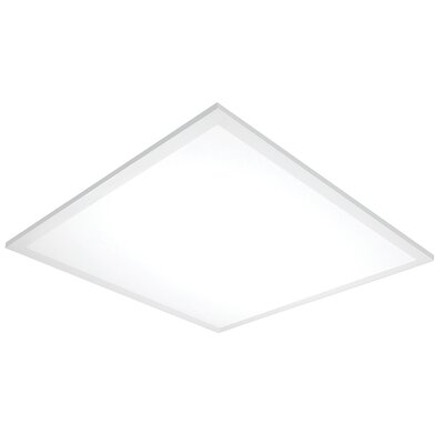 LED Semi Flush Mount Size: 0.75 H x 12 W x 48 D