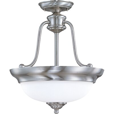 Glenwood 3-Light Semi Flush Mount Energy Star: No