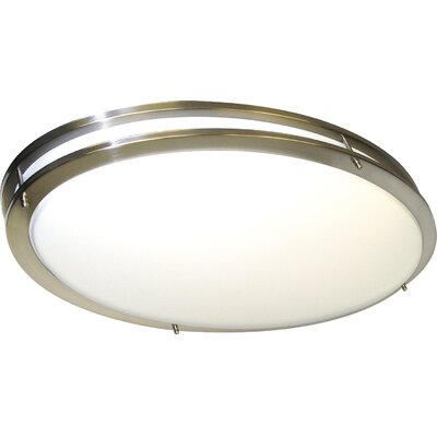 Sid Oval 2 Light Flush Mount
