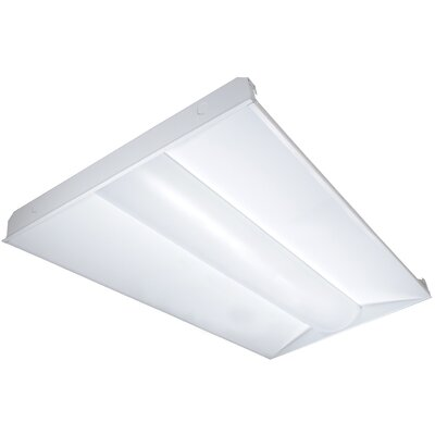 40 Watt Troffer LED Semi Flush Mount Bulb Color Temperature: 5000K