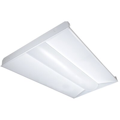 65 Watt Troffer LED Semi Flush Mount Bulb Color Temperature: 3500K