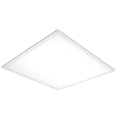 LED Semi Flush Mount Size: 0.75 H x 5 W x 24 D