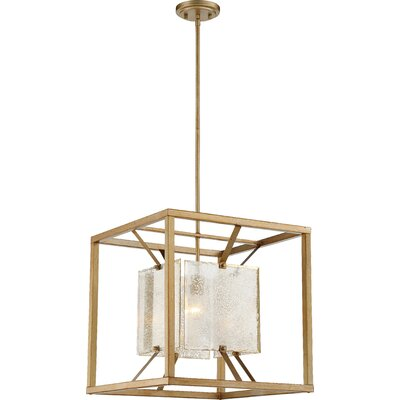 Stanza 1-Light Design Pendant Size: 56 H x 18 W x 18 D