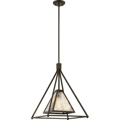 Johnie 1-Light Design Pendant Size: 60.25 H x 17 W x 17 D