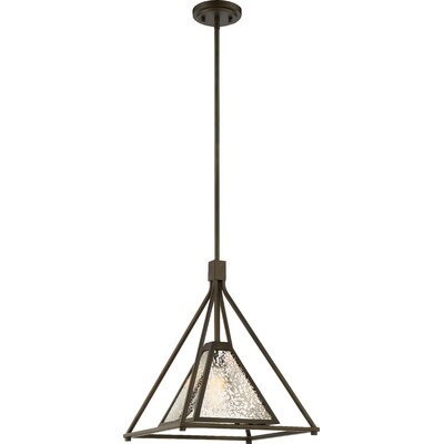 Mystic 1-Light Design Pendant Size: 55.38 H x 14 W x 14 D