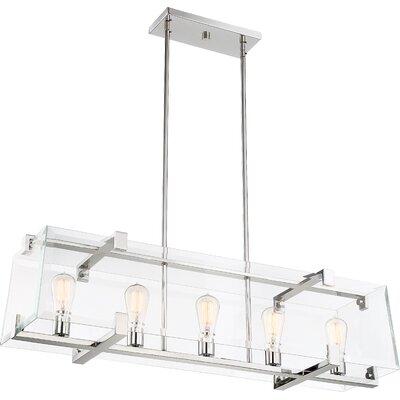 Jennell 5-Light Kitchen Island Pendant