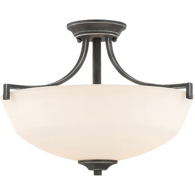 Rockbridge 2-Light Semi Flush Mount