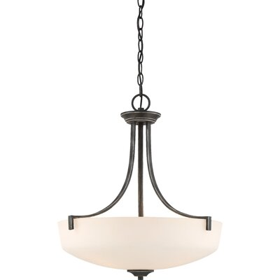 Rockbridge 3-Light Bowl Pendant