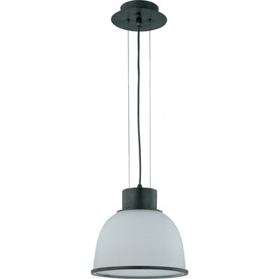 Ruddy 1-Light Inverted Pendant Size: 15.375