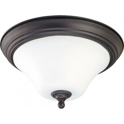 Yale Flush Mount Size / Energy Star: 13 W x 7 H / No