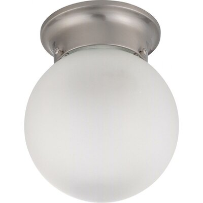 Cobden 7.25 Semi Flush Mount Energy Star: No