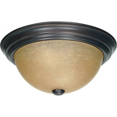 Madelyn 6x 15.25 Flush Mount Size / Energy Star: 5.375 H x 13.125 W / Yes