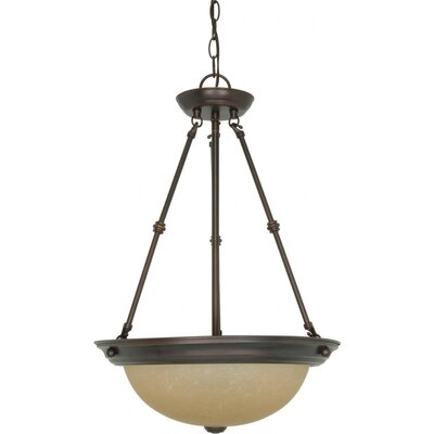 Deena 3-Light Inverted Pendant Size / Energy Star: 23 H x 15 W / No