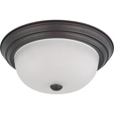 Dome Flush Mount Size / Energy Star: 5.375 H x 13.125 W / No