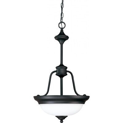 Glenwood 2-Light Large Inverted Pendant Energy Star: No, Finish: Sudbury Bronze