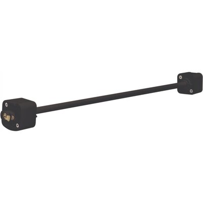36 Track Light Extension Wand in Black