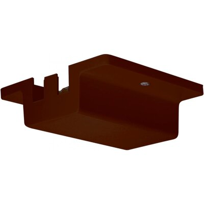 Floating Track Light Canopy in Brown