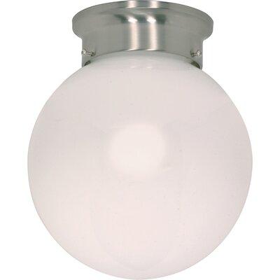 Barroso 1-Light Flush Mount