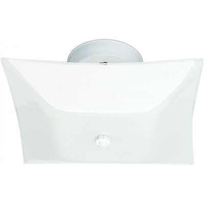 Ollis 2-Light Semi Flush Mount