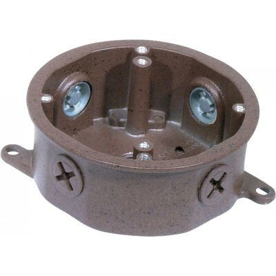 Die Cast Junction Box Finish: Old Bronze
