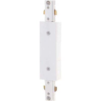 Track Light Inline Feed in White