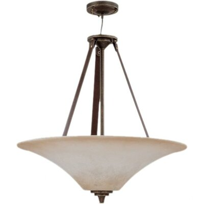 Viceroy 4-Light Inverted Pendant Energy Star: No