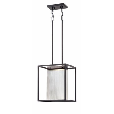 Bin 1-Light Foyer Pendant