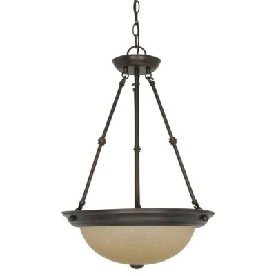 Cowan 3-Light Inverted Pendant Size / Energy Star: 27.75 H x 20 W / Yes
