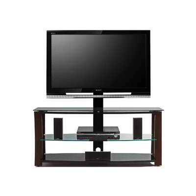 Cheap Welton Answorth 52″ TV Stand with Swivel TV Bracket in Satin Espresso (WON1211)