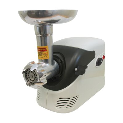 Electric Number 5 Deluxe Meat Grinder with Shredder 82-0103-W