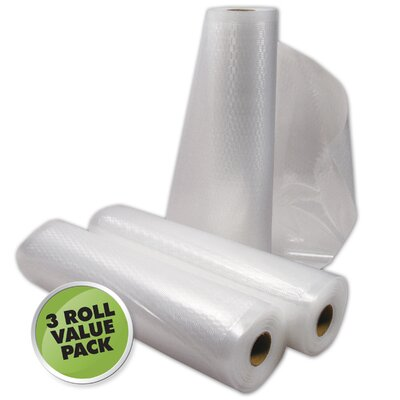 "8"" x 11' Vacuum Sealer Roll 30-0202-W"