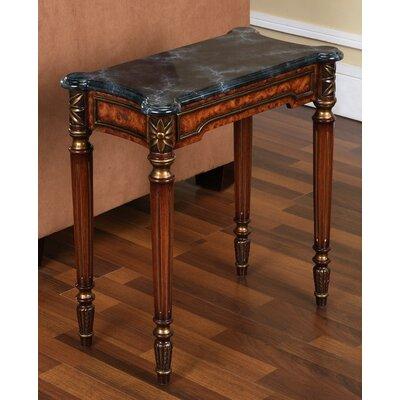 Venice Accent Table Finish: Dark Wood