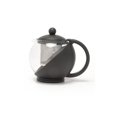La Cafetiere Le Teapot with 2 Cup Capacity in Black
