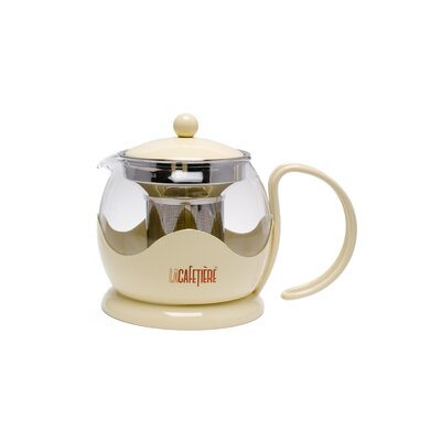 La Cafetiere Le Teapot with 2 Cup Capacity in Cream