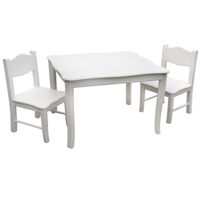 Guidecraft Classic Kids 3 Piece Table & Chair Set G85702